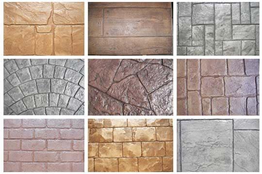 culoare beton amprentat. colorant beton amprentat