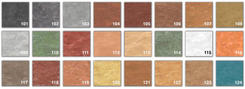 Catalog culori beton amprentat